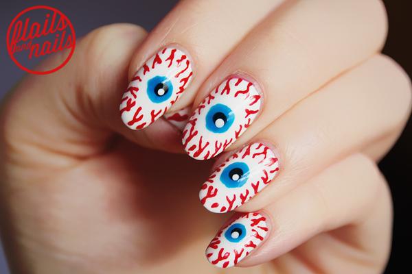Đôi mắt của quỷ là họa tiết được nhiều người ưa chuộng nhất trong dịp Halloween năm nay.