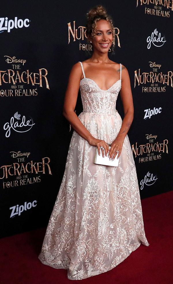 Ca sĩ Anh, Leona Lewis tới dự buổi công chiếu phim.