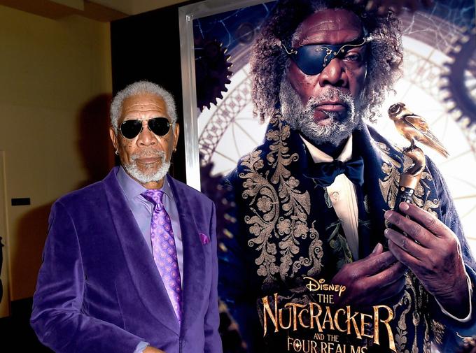 Nam diễn viên 81 tuổi Morgan Freeman.