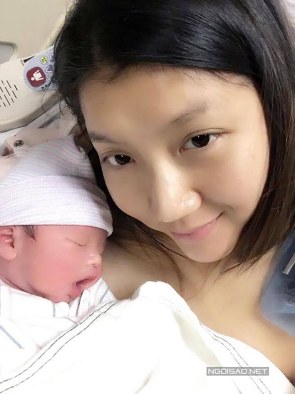 Ngày 6/1/2016, con trai đầu lòng của Ngọc Quyên và bác sĩ Richard Lê chào đời tại Mỹ. Cậu bé được đặt tên làJiraiya Calyton Le. Sau đó, Ngọc Quyên cho biết con trai rất quấn bố và ông xã chăm con còn giỏi hơn cô.