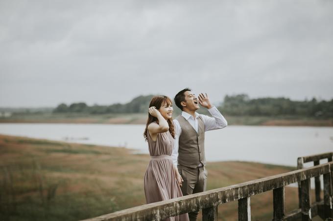 Ảnh cưới ở nhà máy thủy điện của cặp yêu nhau 9 năm