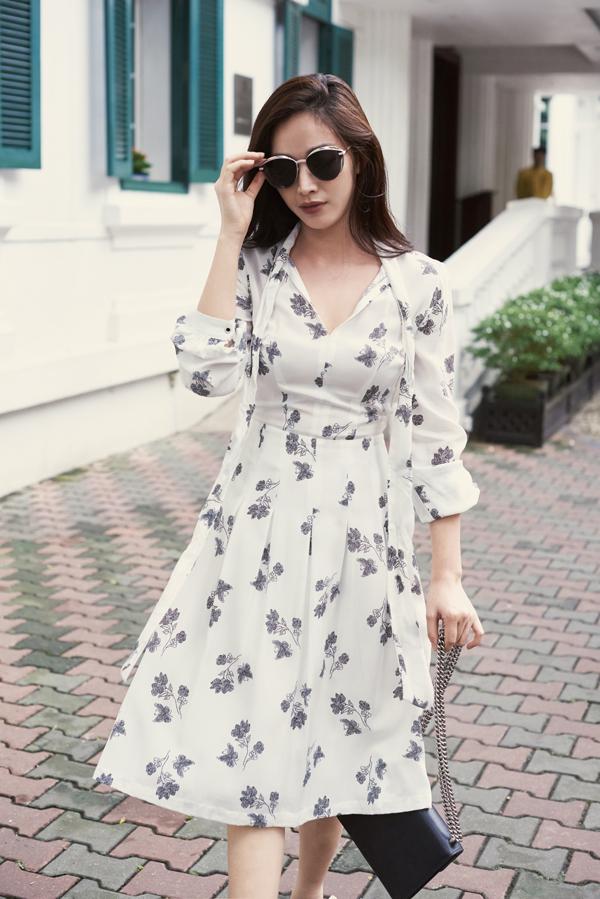 Đối với những cô nàng thích phong cách vintage thì váy xòe là trang phục luôn chứa đựng sức hấp dẫn mạnh mẽ.