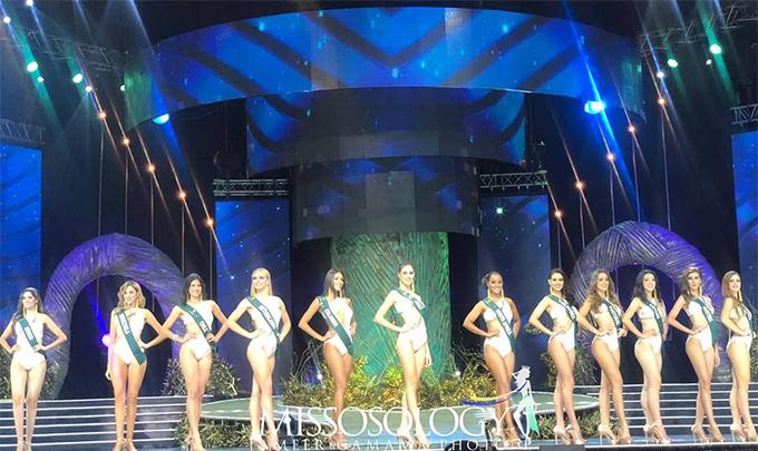 12 thí sinh đẹp nhất đêm thi.