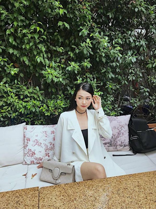 Áo blazer ăn khách mùa thu đông được người đẹp sử dụng cùng