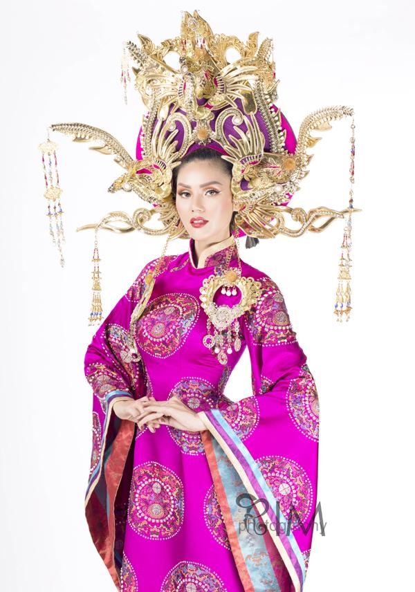 Người đẹp Kim Nguyên tiết lộ trang phục thi Hoa hậu châu Á - 2