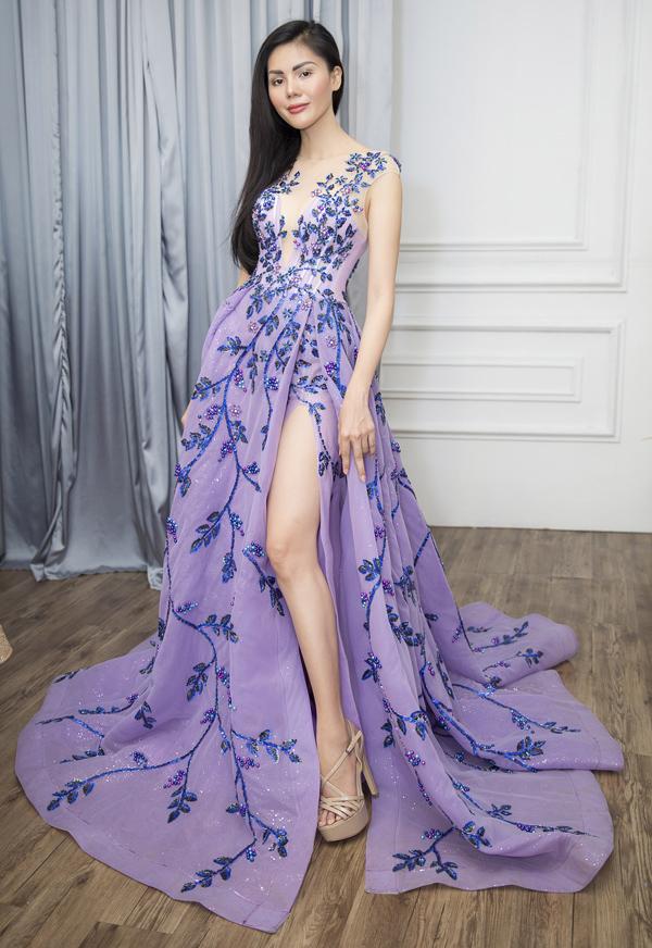 Người đẹp Kim Nguyên tiết lộ trang phục thi Hoa hậu châu Á - 3