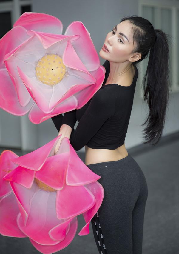Người đẹp Kim Nguyên tiết lộ trang phục thi Hoa hậu châu Á - 6