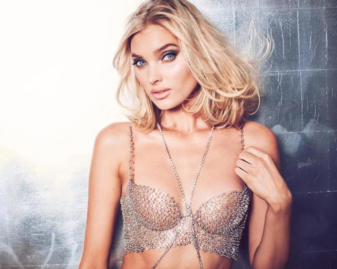 Elsa Hosk unveils $1m Victorias Secret Fantasy Bra  which features 2,100 Swarovski diamonds and took 930 hours to make