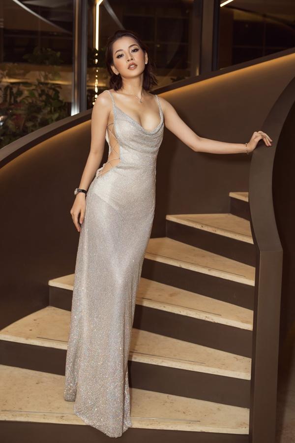 Sao Việt lăng xê xu hướng váy ánh kim - 4