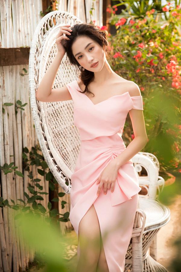 Jun Vũ diện đầm khoe vòng một nóng bỏng - 8