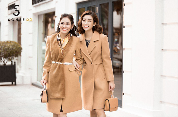 Bộ sưu tập thu đông 2018 The Twinsđã đượcbày bán ở hệ thống 20 showroom chính hãng của Sohee trên khắp các tỉnh, thành của miền Bắc và miền Trung.