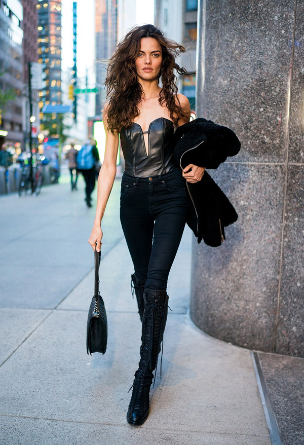 Dàn mẫu Victorias Secret mặc cực chất đi thử đồ trước show - page 2 - 5