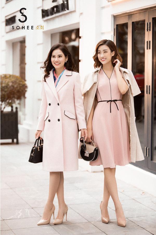 Bên cạnh các mẫu vest ngắn,thiết kế áo khoác dáng dài cũng được Sohee tung ra trong mùa thời trang năm nay. Đây là item không thể thiếu trong tủ đồ của phái đẹp khi xuống phố ngày đông. Áo khoác dáng dài cũngdễ dàng kết hợp với chân váy ngắn, váy liền hoặc quần, vừa giữ ấm cơ thể vừa giúp chị em trông trẻ trung, sành điệu hơn.