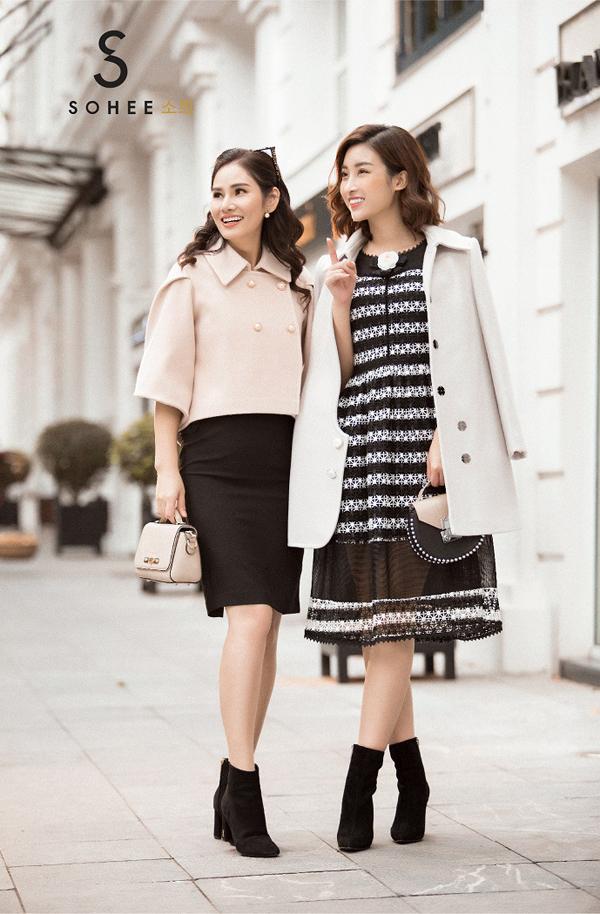 Hoa hậu Đỗ Mỹ Linhnhận xét, từng sản phẩm trong bộ sưu tập The Twins được chăm chút kỹ lưỡng từ chất liệu vải, đường cắt may nên có chất lượng cao.