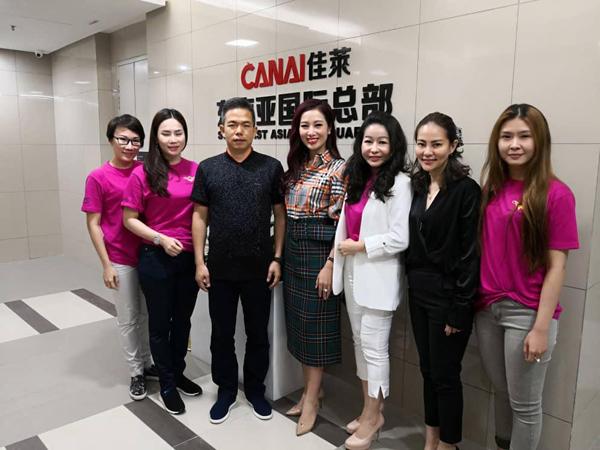 Á hậu Mrs. World Nguyễn Thu Hương rạng rỡ dự sự kiện của He & Me - ảnh 9