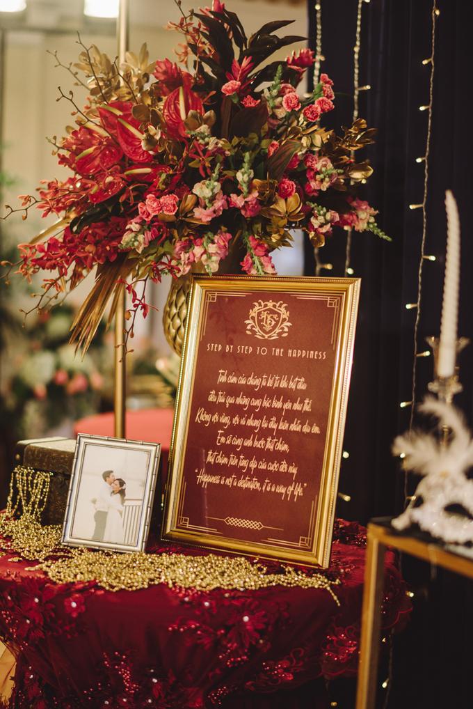 Tiệc cưới Gatsby của uyên ương làm bác sĩ