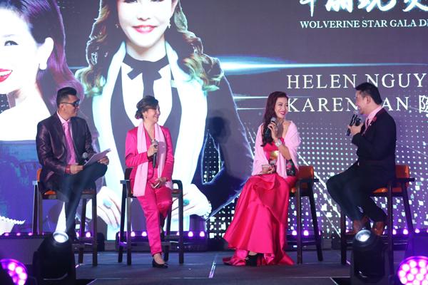 Á hậu Mrs. World Nguyễn Thu Hương rạng rỡ dự sự kiện của He & Me - ảnh 3