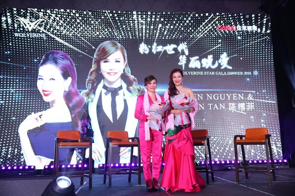 Á hậu Mrs. World Nguyễn Thu Hương rạng rỡ dự sự kiện của He & Me - ảnh 5