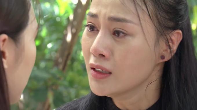 Phương Oanh vào vai Quỳnh, nhân vật chính trong phim truyền hình đang gây sốt.