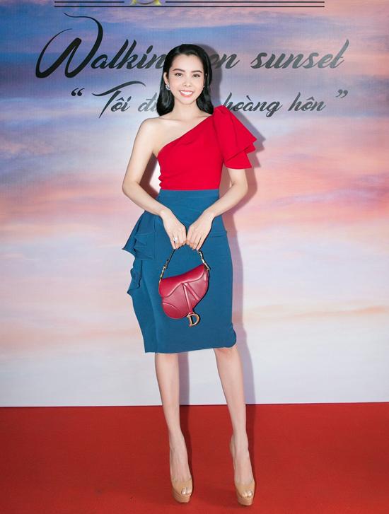 Huỳnh Vy rất hào hứng khi nhận được lời mời tham gia sự kiện khi vừa trở về sau khi đăng quang Hoa hậu Du lịch Thế giới 2018.