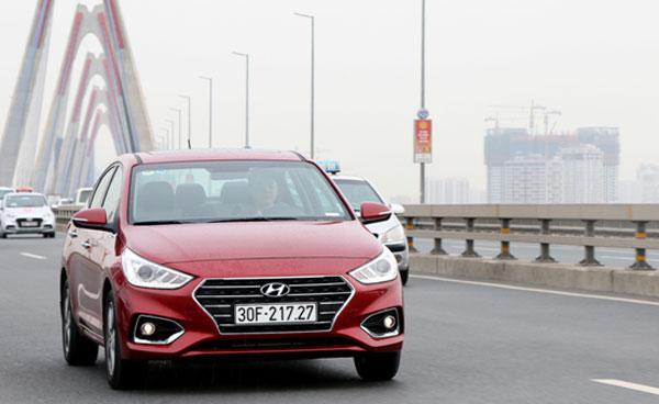 Accent trở thành mẫu xe Hyundai bán tốt nhất ở Việt Nam.