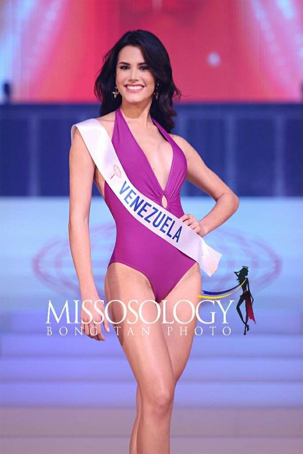Mariem đã có màn trình diễn ấn tượng trong đêm chung kết qua các vòng thi Trang phục dân tộc, Trang phục dạ hội và Trang phục áo tắm.
