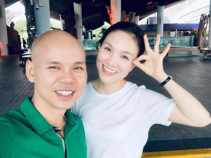 Ca sĩ Phan Đinh Tùng cùng bà xã Thái Ngọc Bích đi du lịch, khám phá quốc đảo sư tử Singapore.
