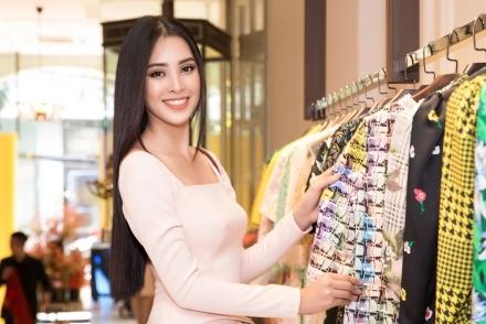Một ngày chuẩn bị dự thi Miss World của Hoa hậu Tiểu Vy