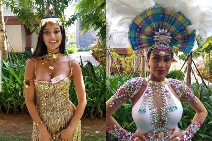 Đại diện Ai Câp và Guatemala giới thiệu văn hóa nước nhà tại Miss World. Những ngày tiếp theo, các thí sinh được chia thành20 nhóm,bước vào phần thi Thuyết trìnhđối đầu. Chỉ 20 thí sinh giành chiến thắng mỗi nhóm mới tiếp tục thuyết trình và tranh luậnvềdự án Người đẹp Nhân ái.
