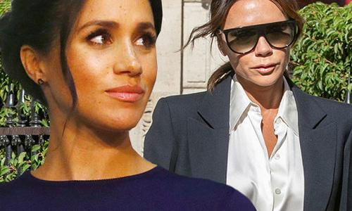 Lý do Meghan không mặc đồ của Victoria Beckham