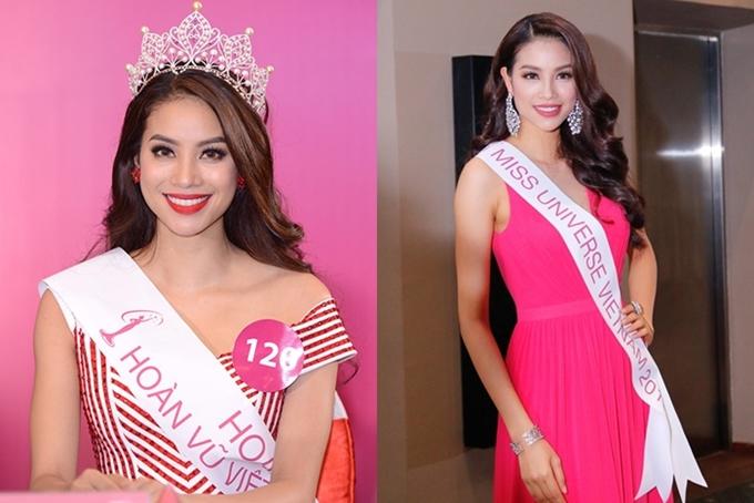 Năm 2015, ở độ tuổi 24, Phạm Hương quyết định chinh chiến nhan sắc lần cuối với Hoa hậu Hoàn vũ Việt Nam. Với sắc vóc nổi bật và sự thể hiện xuất sắc, cô giành chiến thắng thuyết phục, trở thành gương mặt được đông đảo khán giả Việt Nam biết đến và yêu mến.