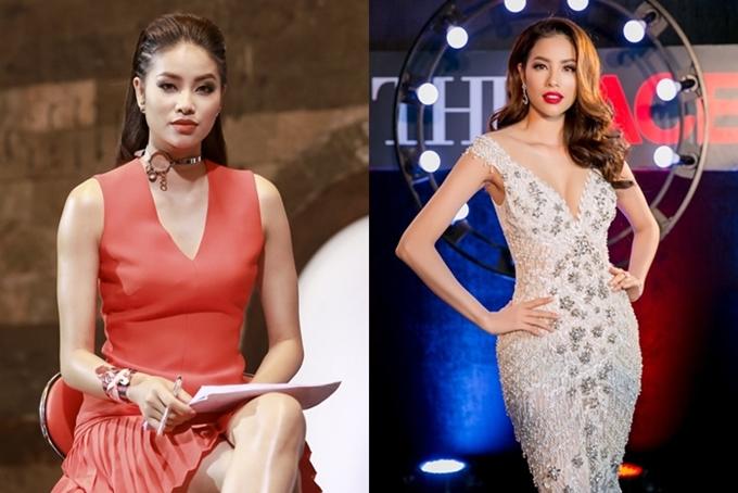 Năm 2016, Phạm Hương lấn sân làm huấn luyện viên chương trình The Face. Cô gây tranh cãi bởi nhiều phát ngôn thẳng thắn, quyết định loại thí sinh khiến hình ảnh hoa hậu phần nào bị ảnh hưởng.
