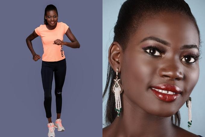 Hoa hậu South Sudan - Florence Thompson