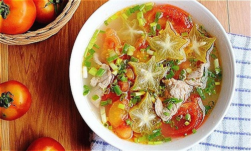 Canh cà chua thịt bò đơn giản, ngon miệng