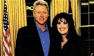 Monica Lewinsky kể về lần gần gũi Bill Clinton trong nhà tắm