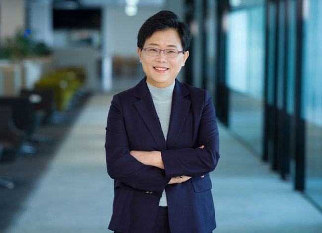 Bà Lim Il Soon (53 tuổi), hiện là CEO của hãng bán lẻ Homeplus. Ảnh: Korean Times.
