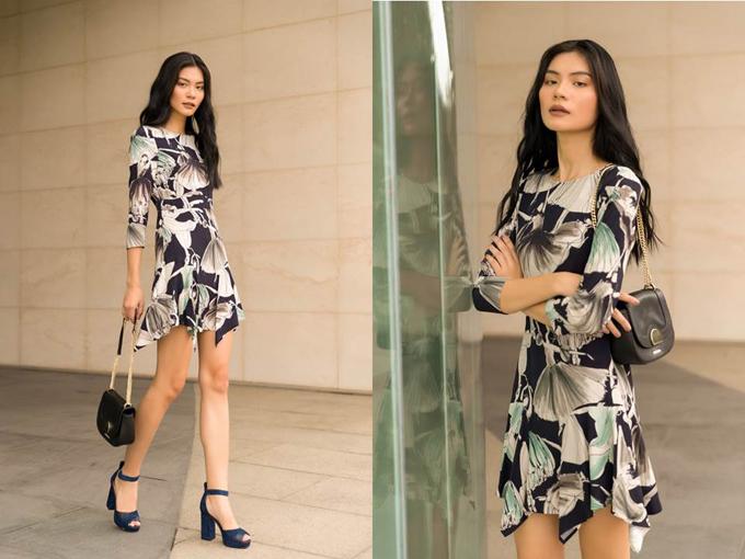 Kim Dung quyến rũ với những thiết kế có họa tiết hình vũ công ba lê đang nhảy múa trong bộ sưu tập thời trang thu đông 2018.