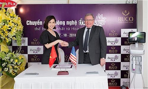 Trâm Nguyễn chi 3 triệu USD đưa các công nghệ làm đẹp mới về Ruco