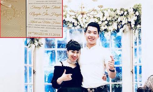Trương Nam Thành và vợ đại gia đặt tiệc cưới ở khách sạn 5 sao