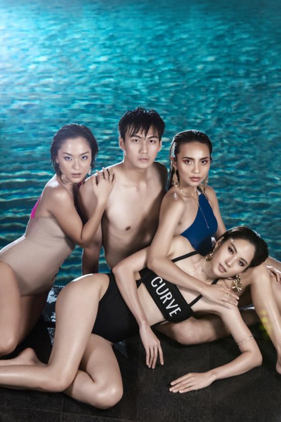 Team Thanh Hằng sau 6 tập vẫn giữ được 4 thành viên, mỗi người 1 sắc màu riêng biệt đầy cá tính.