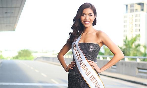 Minh Tú sút 4 kg khi lên đường dự thi Hoa hậu Siêu quốc gia -