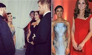 Vợ chồng Harry và William 'bí mật hẹn hò' với các ngôi sao nổi tiếng
