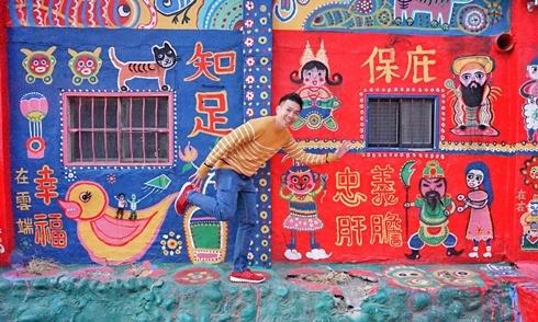 Ngôi làng như vẽ bùa ở Đài Loan
