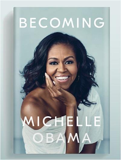 Bìa cuốn tự truyện Becoming. Ảnh: USA today.