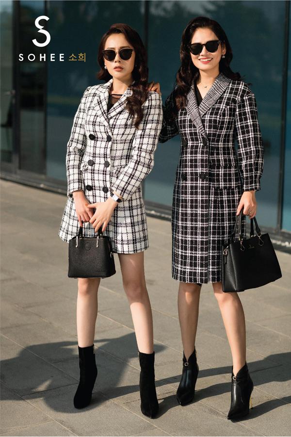 Hoạ tiết kẻchưa bao giờ lỗi mốt từ mùa xuân hè đến mùa thu đông và Sohee không nằm ngoài ngoại lệ. Tuy nhiên theo từng mùa thời trang, hoạ tiết này lại có sự thay đổi cho phù hợp với xu hướng trên thế giới.
