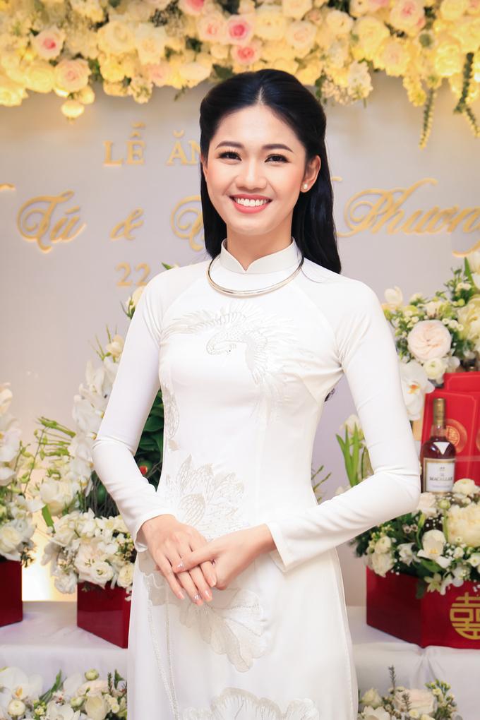 Bộ tráp ăn hỏi theo phong tục Hà Nội xưa của Á hậu Thanh Tú
