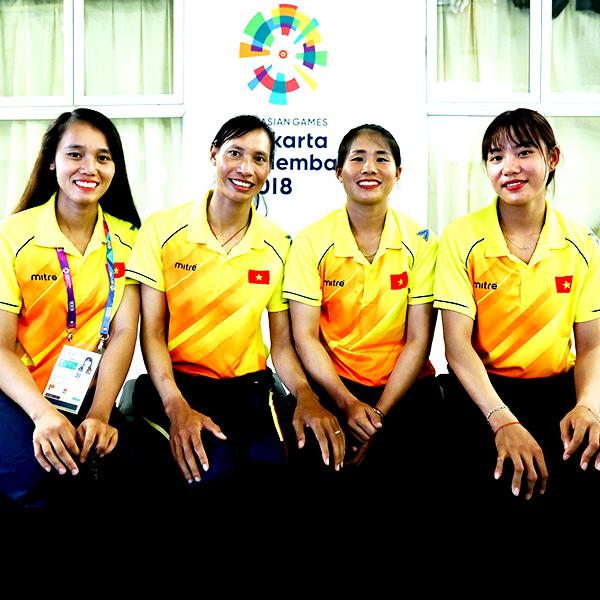 Đội rowing nữ Việt Nam