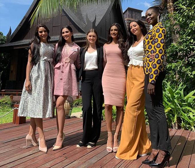Tiểu Vy nỗ lực thể hiện bản thân ở nửa chặn đường đầu Miss World - 5
