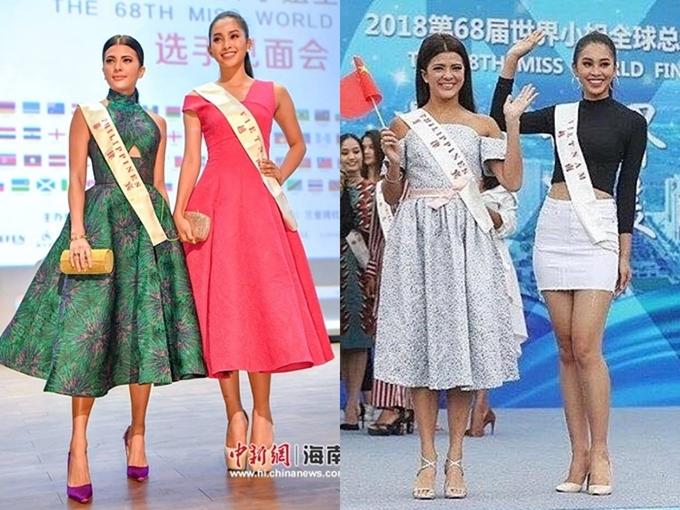 Tiểu Vy nỗ lực thể hiện bản thân ở nửa chặn đường đầu Miss World - 9