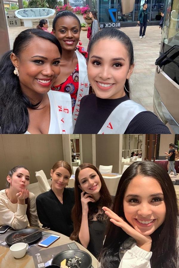Tiểu Vy nỗ lực thể hiện bản thân ở nửa chặn đường đầu Miss World - 11